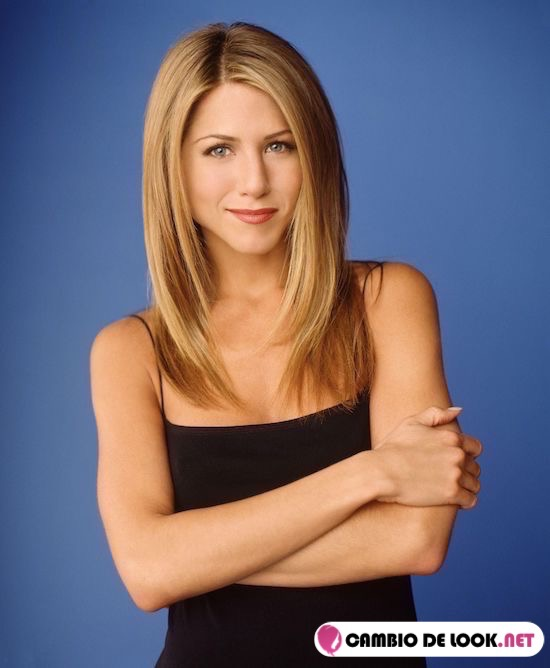peinado de jennifer aniston rachel green