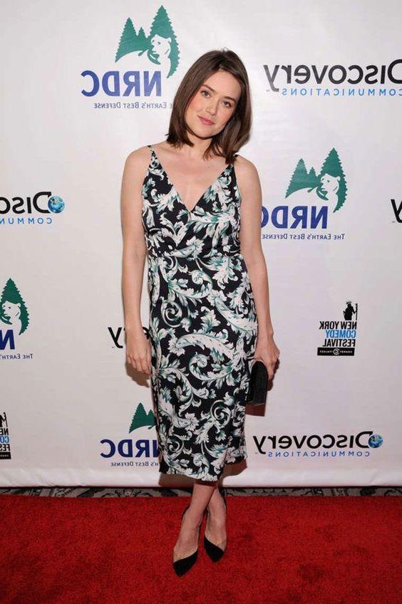 Megan Boone vestido elegante
