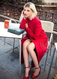 Miriam Giovanelli look casual