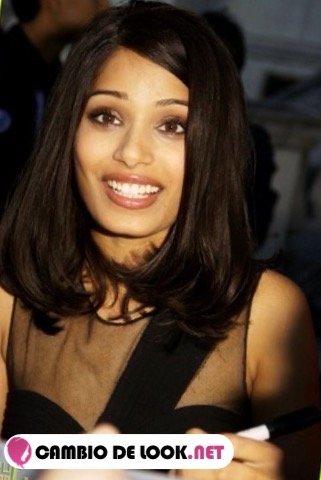 Los labiosde la India Freida Pinto