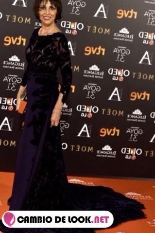 Los labioscomo la actriz Maria Barranco