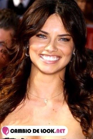 Adriana Lima sus peinados