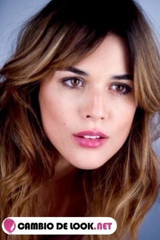 Adriana Ugarte todos sus peinados