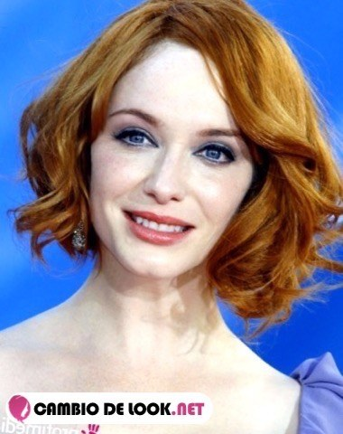 Christina Hendricks peinado