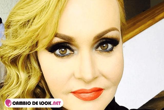 la actriz Gabriela Spanic sin maquillarse