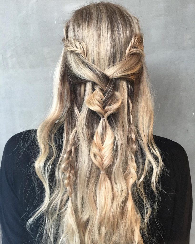 Trenzas game of throne
